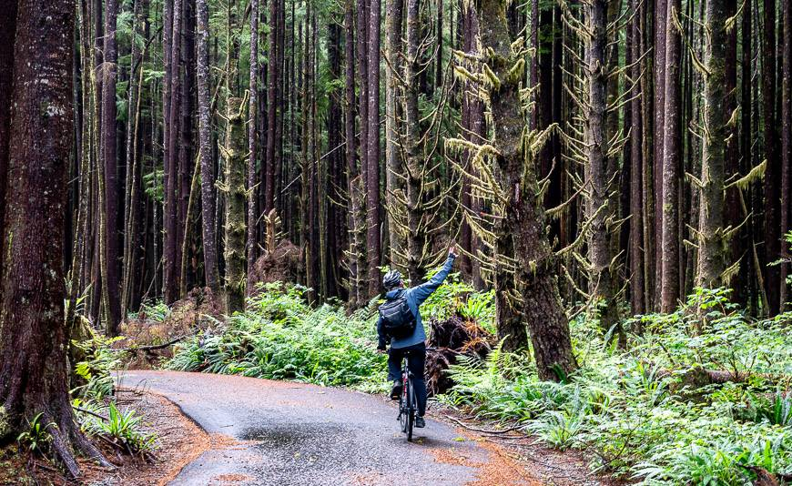 Tofino to Ucluelet by Bike Via a New Multi-Use Trail